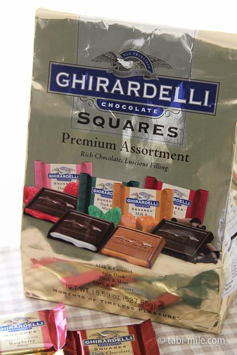 アメリカお土産ギラデリチョコレート2