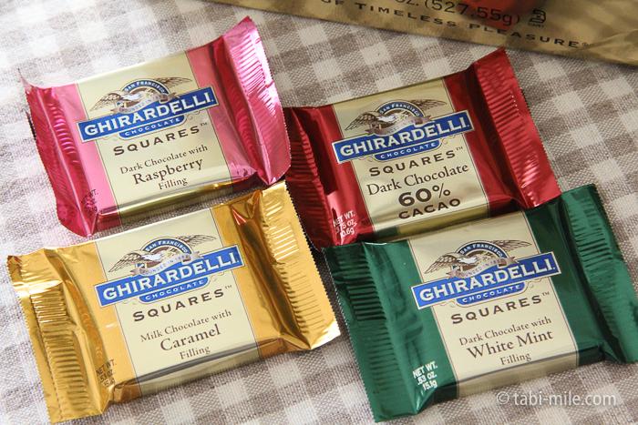 アメリカお土産ギラデリチョコレート3