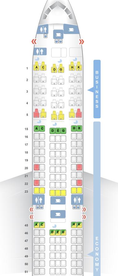 JAL767-300ERシートマップ