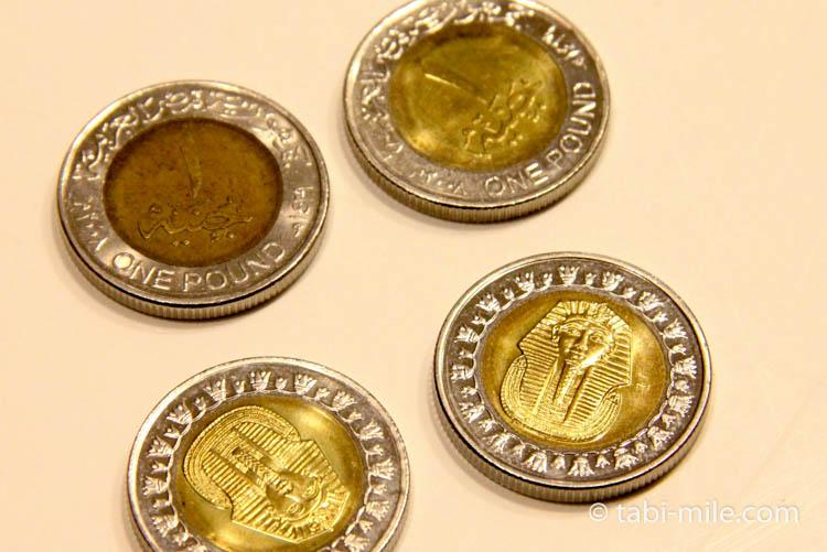 エジプトポンド 硬貨