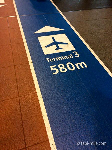 羽田空港第3ターミナルわかりやすい道