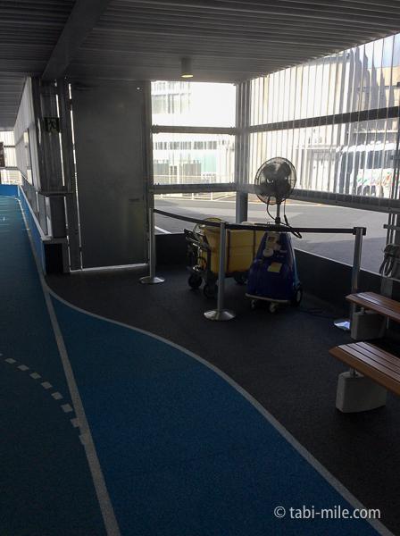羽田空港第3ターミナル休憩スペース