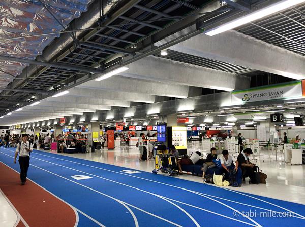 羽田空港第3ターミナルトラック