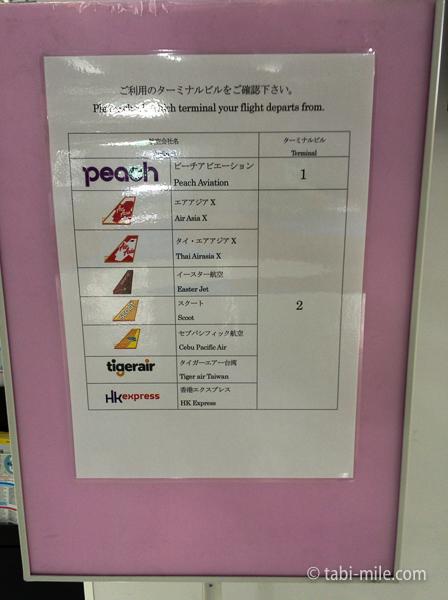 羽田空港第3ターミナル他のターミナル