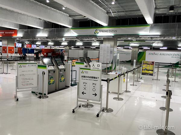 羽田空港第3ターミナル春秋航空