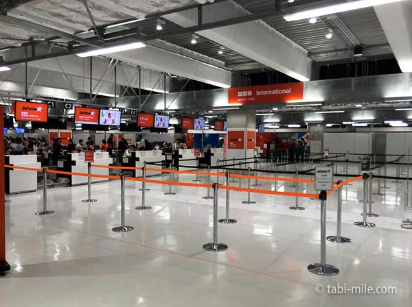 羽田空港第3ターミナルジェットスター