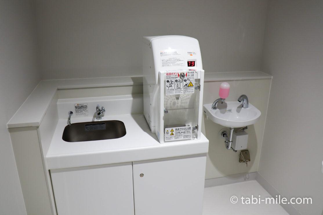 成田空港第3ターミナル ベビールーム お湯