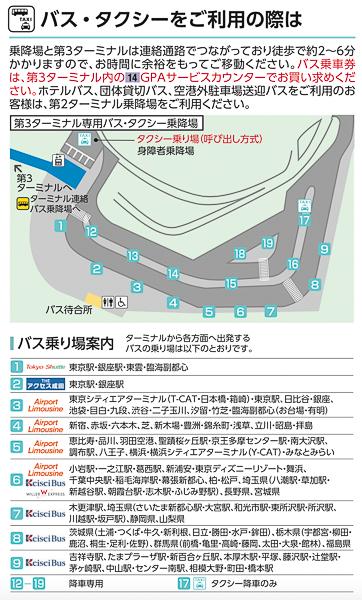 成田空港第3ターミナル バス停