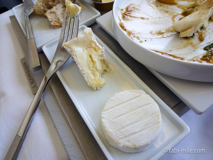 エールフランスビジネスクラスチーズ