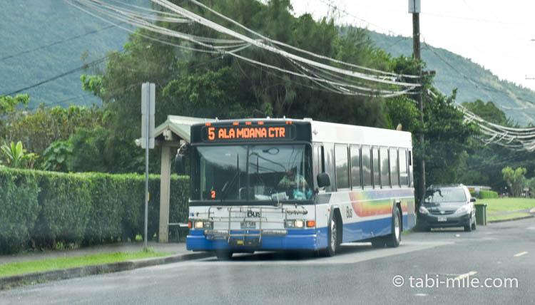 ハワイ 路線バス