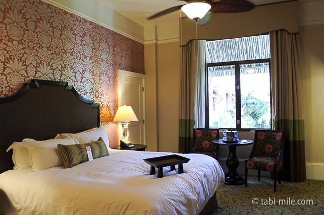 ハワイロイヤルハワイアンホテル部屋ヒストリックガーデンキングベッド
