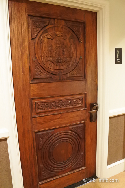 ハワイロイヤルハワイアンホテル部屋ヒストリックガーデン扉