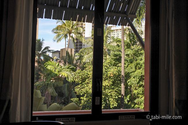 ハワイロイヤルハワイアンホテル部屋ヒストリックガーデン景色緑
