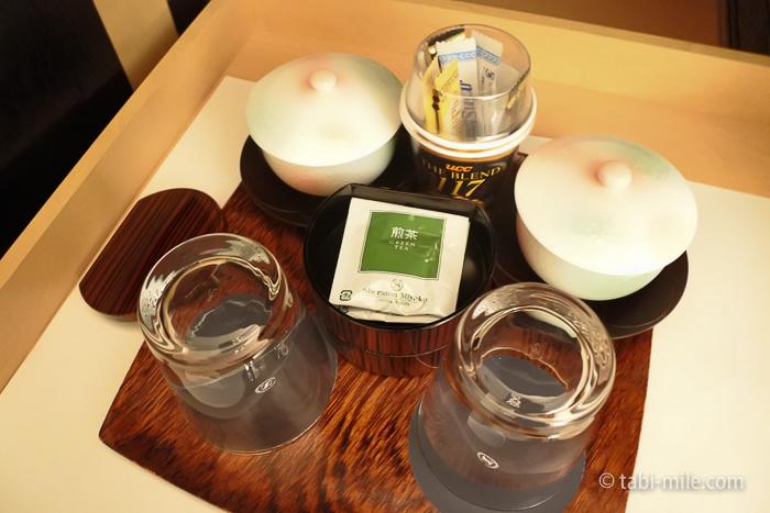 シェラトン都ホテル東京部屋お茶