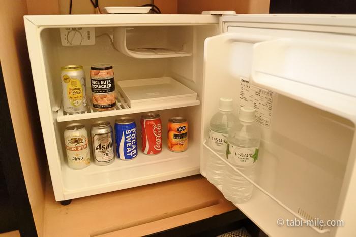 シェラトン都ホテル東京部屋冷蔵庫