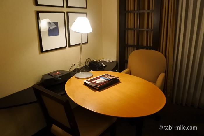 シェラトン都ホテル東京デスク