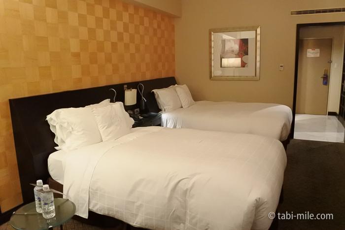 シェラトン都ホテル東京プレミアムフロアデラックスルームツインベッド