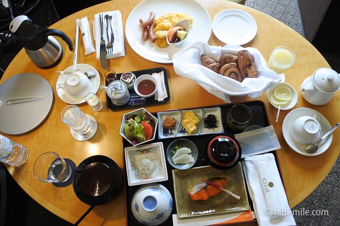 都ホテル東京朝食ルームサービス和食洋食