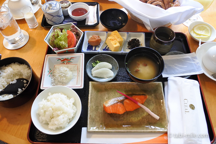 シェラトン都ホテル東京朝食ルームサービス和食
