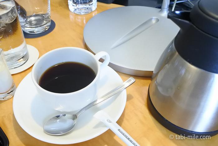 シェラトン都ホテル東京朝食ルームサービスコーヒー