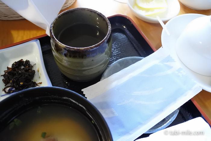 シェラトン都ホテル東京朝食ルームサービス和食お茶