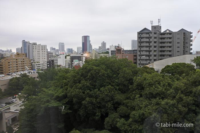 シェラトン都ホテル東京景色