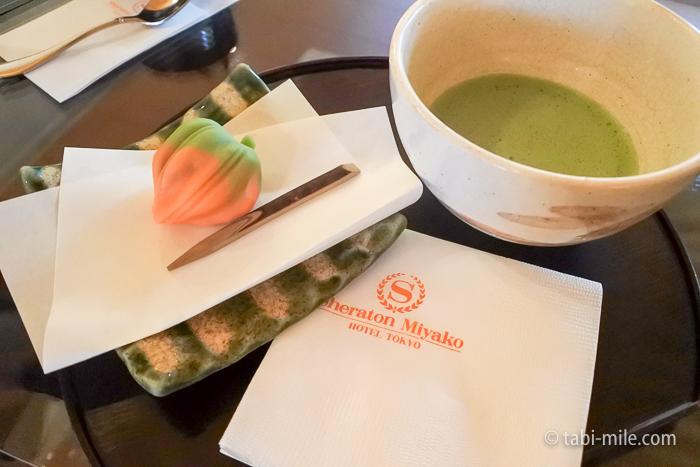 シェラトン都ホテル東京バンブー抹茶セット
