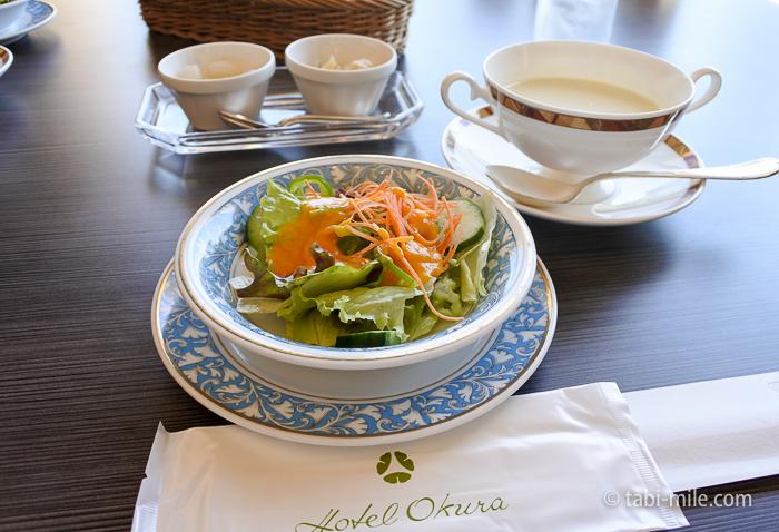 ホテルシーサイド江戸川レストランランチサラダ1