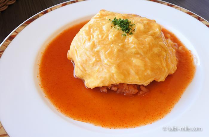 ホテルシーサイド江戸川レストランランチオムライス1