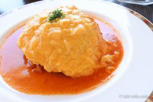 ホテルシーサイド江戸川レストランランチオムライス3