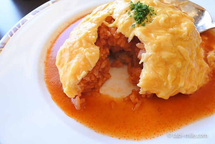 ホテルシーサイド江戸川レストランランチオムライス2