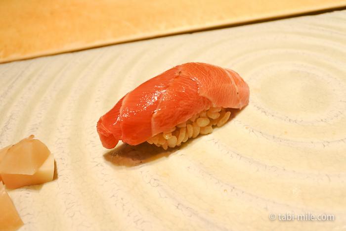 ヒルトン東京レストラン寿司中トロ