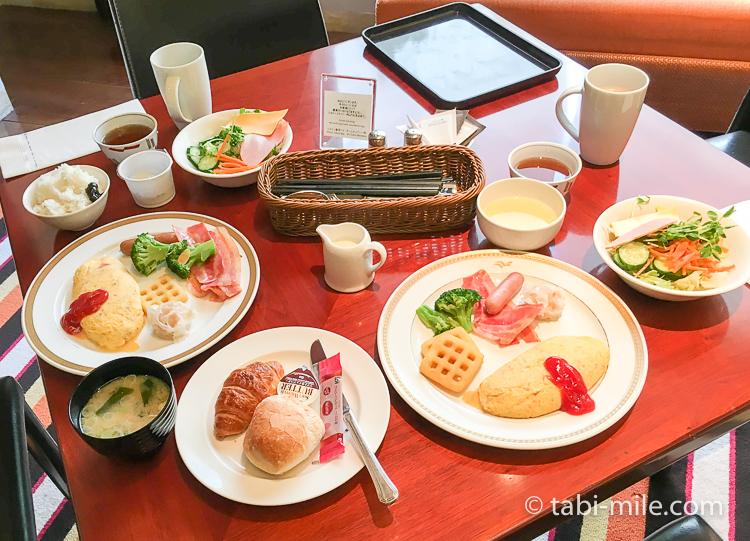 ヒルトン東京ベイ 朝食ブッフェ 洋食