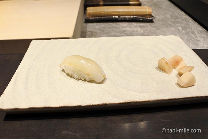 ヒルトン東京レストラン寿司イカ