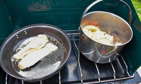 無印良品カンパーニャ嬬恋キャンプ場レンタル調理器具