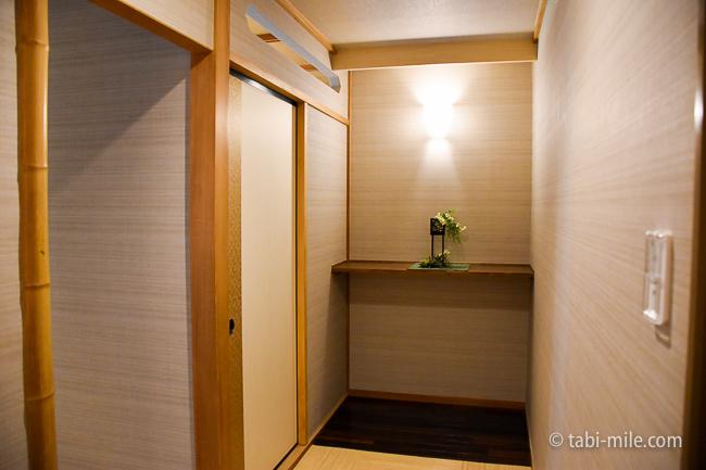 鬼怒川金谷ホテル部屋の玄関
