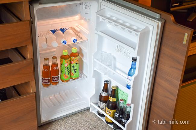 鬼怒川金谷ホテルグレードアップ和室冷蔵庫