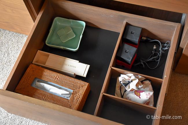 鬼怒川金谷ホテルグレードアップ和室ティッシュボックス