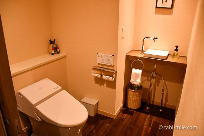 鬼怒川金谷ホテルグレードアップ和室トイレ