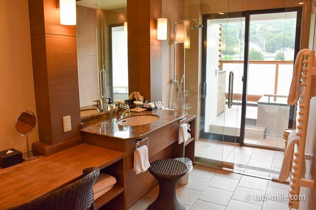 鬼怒川金谷ホテルグレードアップ和室洗面所バスルーム