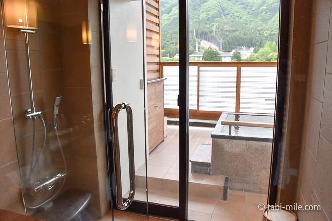 鬼怒川金谷ホテルグレードアップ和室バスルーム