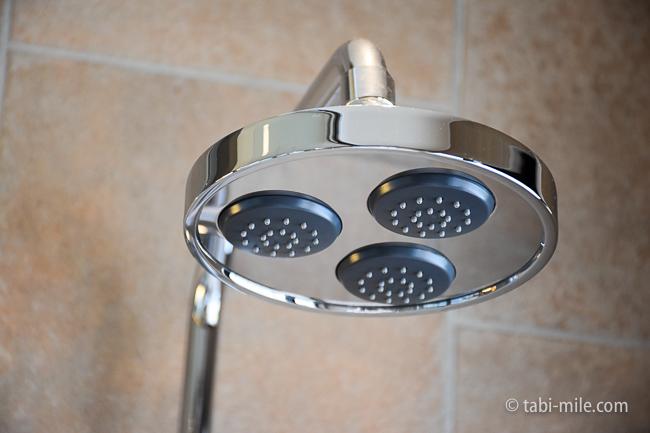 鬼怒川金谷ホテルグレードアップ和室バスルームシャワーヘッド