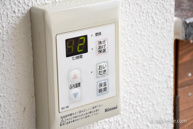 鬼怒川金谷ホテルグレードアップ和室露天風呂湯沸かし