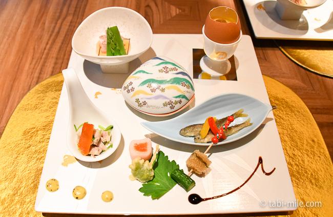 鬼怒川金谷ホテル夕食前菜