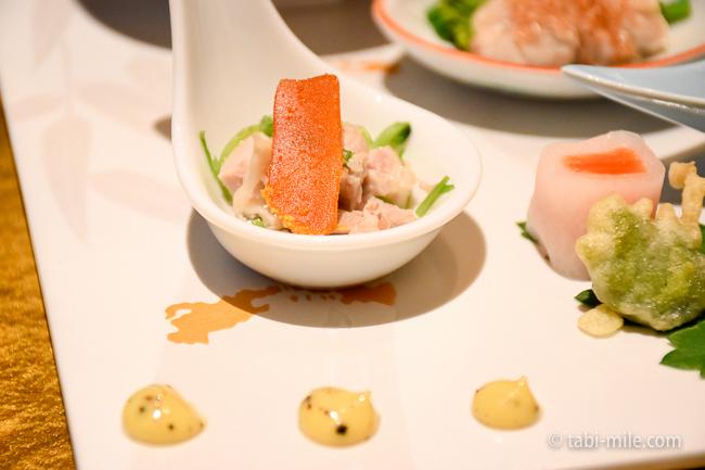 鬼怒川金谷ホテル夕食前菜和え物