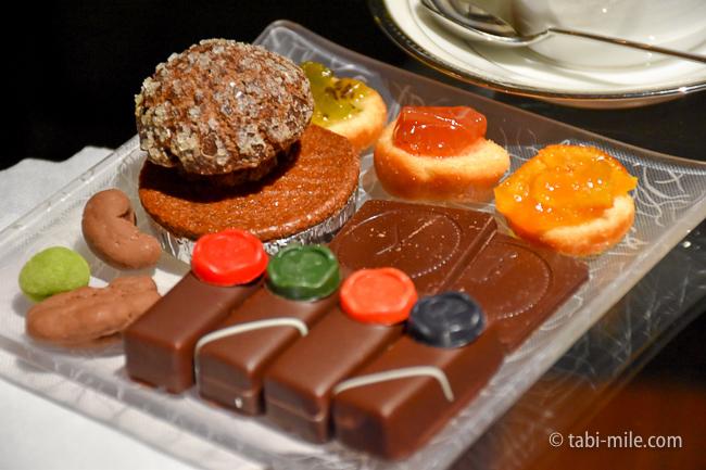 鬼怒川金谷ホテルラウンジサービス特製チョコレート