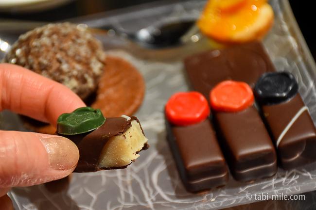 鬼怒川金谷ホテルラウンジサービスジョンカナヤ特製チョコレート梅