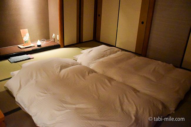 鬼怒川金谷ホテルグレードアップ和室布団