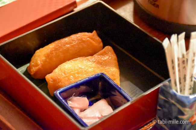 鬼怒川金谷ホテル夜食稲荷寿司