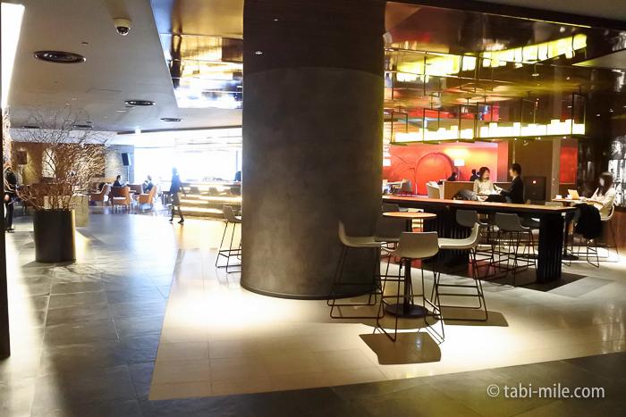 ヒルトン東京レストラン風景
